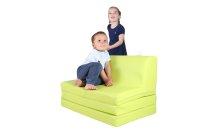 Klappsofa mit Integrierten Sitzlehne bzw. Kissen